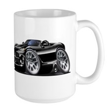 Viper Roadster Black Car Mug