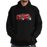 Viper Roadster Red Car Hoodie
