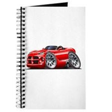 Viper Roadster Red Car Journal