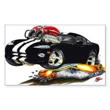 Viper Black/White Car Rectangle Decal