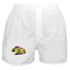 Viper Yellow/Black Convertible Boxer Shorts