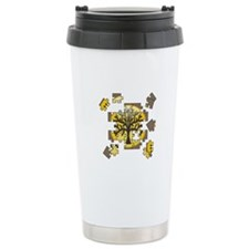 Tree Jigsaw Ceramic Travel Mug