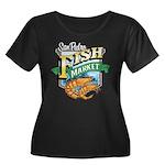 San Pedro Fish Market Women's Plus Size Scoop Neck