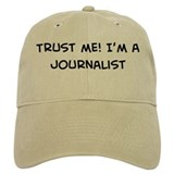 Trust Me: Journalist Baseball Cap