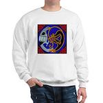 Celtic Bird & Cat Sweatshirt