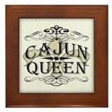 Cajun Queen Framed Tile