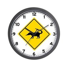 Coatimundi Crossing, Guatemala Wall Clock