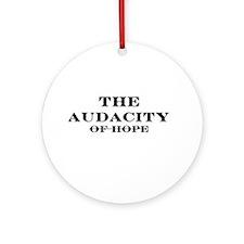 The Audacity Ornament (Round)