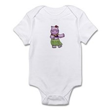Hula Hippo Infant Bodysuit
