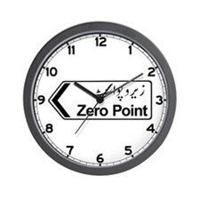 Zero Point, Islamabad, Pakistan Wall Clock