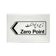 Zero Point, Islamabad, Pakistan Rectangle Magnet (
