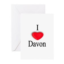 Davon Greeting Cards (Pk of 10)