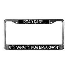 Road rage License Plate Frame