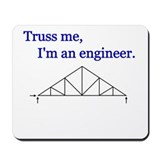 Unique Structural engineering Mousepad