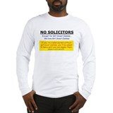 No Solicitors T Shirt