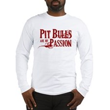 Pit Bull Passion Long Sleeve T-Shirt