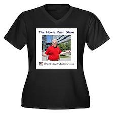 Funny Countries Women's Plus Size V-Neck Dark T-Shirt