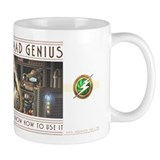 """Certifiable MAD GENIUS"" Mug"