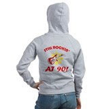 Rockin' 90th Birthday Zip Hoody