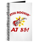 Rockin' 85th Birthday Journal