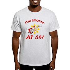 Rockin' 65th Birthday T-Shirt