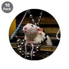 "Aimee's rats nest 3.5"" Button (10 pack)"