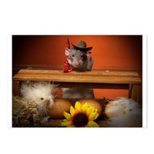 Aimee's rats nest Postcards (Package of 8)