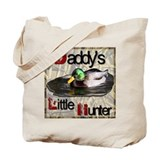 Daddy Little Hunter Tote Bag