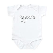 Hey, guccie! Infant Bodysuit