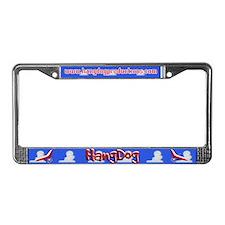 Hangdog<br>License Plate Frame