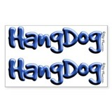 Hangdog Logo <br>Stickers