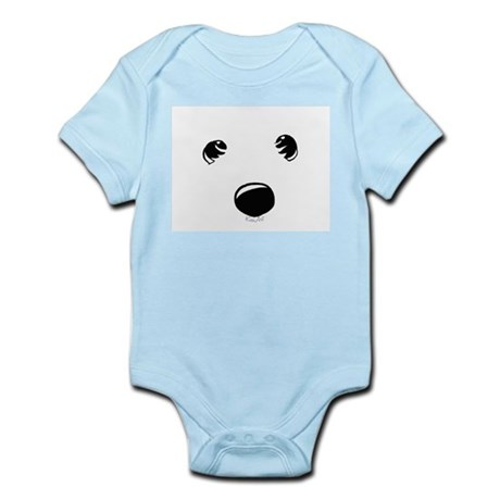 Westie Face Infant Bodysuit