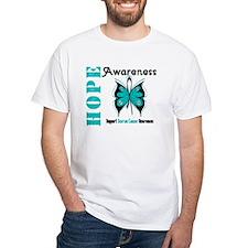 Ovarian Cancer Butterfly Shirt