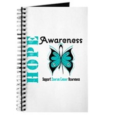 Ovarian Cancer Butterfly Journal