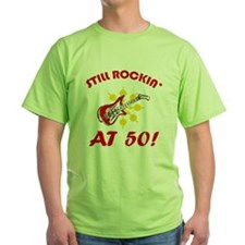 Rockin' 50th Birthday T-Shirt