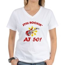 Rockin' 50th Birthday Shirt