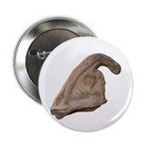 Hadrosaur Skull 2.25&quot; Button
