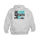 Ovarian Cancer Hope Hoody