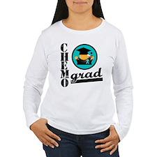 Ovarian Cancer Chemo Grad T-Shirt