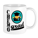 Ovarian Cancer Chemo Grad Mug