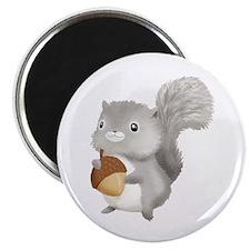 Cute Squirrel Magnet
