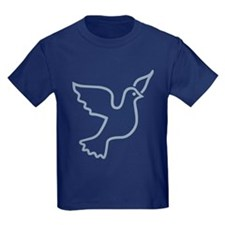 Peace Dove Blue Light T
