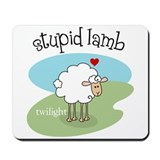 Twilight Stupid Lamb Mousepad