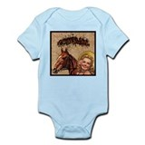 Cowgirl Tattoo Infant Bodysuit