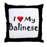 Balinese Throw Pillow