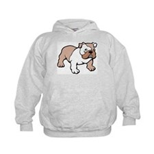 Bulldog gifts for women Kids Hoodie