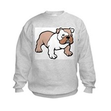 Bulldog gifts for women Kids Sweatshirt