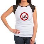 """No SQL"" Women's Cap Sleeve T-Shirt"