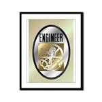 Engineers Framed Panel Print