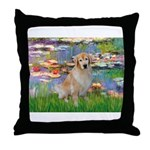 Lililes (#2)-Golden 10 Throw Pillow